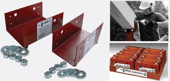 Adjustable Steel Columns Grabber Saddle Plate The Akron